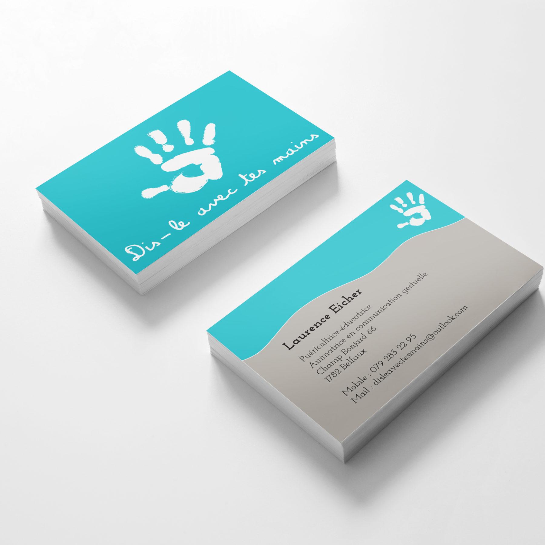 cartes dis-le-avec tes mains